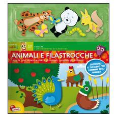 Animali e filastrocche. Con adesivi