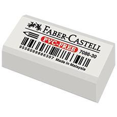 conf. 30 gomma per matita FaberCastell bianca 188730