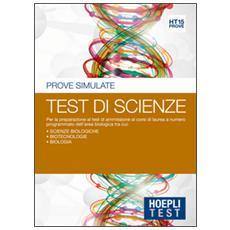 Test. Prove simulate. Test di scienze. Vol. 15