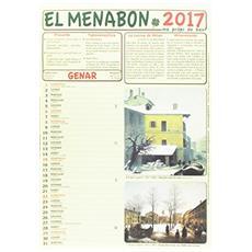 Menabon. Calendario 2017. Con libro (El)