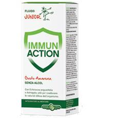 Erbavita Immun Action Junior Fluido 200ml Amarena