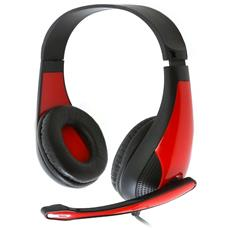 Auricolare Gaming Omega Freestyle Fh4008r Rosso