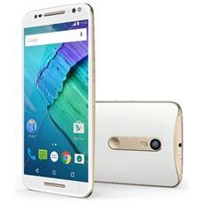 """Moto X Style White Display IPS 5.7"""" Quad HD Hexa Core Ram 3GB Storage 32GB +Slot WiFi BT 4G / LTE Doppia Fotocamera 21Mpx / 5Mpx Android 5.1 - Italia RICONDIZIONATO"""