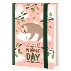 Agenda Small 2020 Giornaliera 16 Mesi Legami Sloth
