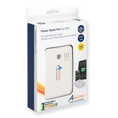 AL300, Bianco, Telefono cellulare, MP3, MP4, Mini-USB, 110 x 70 x 16 mm