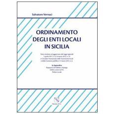 Ordinamento degli enti locali in Sicilia
