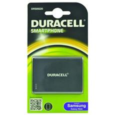 Batteria Telefono Cellulare DURACELL - 2500 mAh - Ioni di litio (Li-Ion) - 3,7 V DC - Batteria ricaricabile