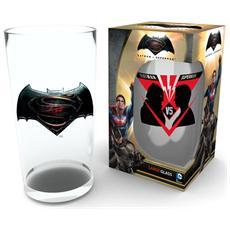 Batman V Superman - Face Off Large (Bicchiere)