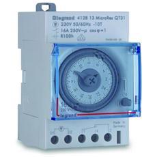 412813 – Interruttore Orari Microrex Giornaliero 3m Carica