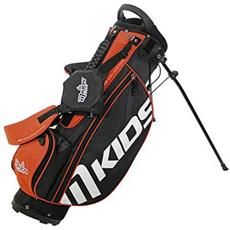 Master Golf Mkids Stand Bag Junior Arancione Sacca Per Bambini Di 8-9 Anni - 125cm
