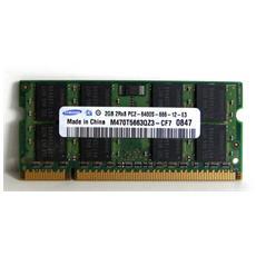 Memoria SoDimm 2GB (1x 2GB) DDR2 800 MHz CL6