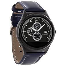 Qin XW Prime II Display 1.22 Bluetooth Compatibile con iOS e Android Cardiofrequenzimetro Colore Blu Scuro - Europa