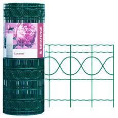 Rete metallica per recinzione m 25x0.66 H elettrosaldata zincata verde
