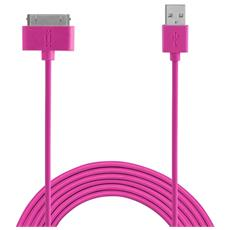 30 Pin Apple TPE cable 1,5 m - Pink