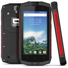 """Trekker M1 Core Grigio / Rosso 16 GB 4G / LTE Dual Sim Impermeabile Display 4.5"""" HD Slot Micro SD Fotocamera 13 Mpx Android Italia"""