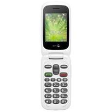"2404 Senior Phone Dual Sim Display 2.4"" +Slot MicroSD Bluetooth Fotocamera Tasti Grandi e SOS Colore Rosso Bianco-Europa"