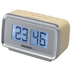 RS-132, Orologio, Digitale, FM, LCD, 13,7 cm, 6 cm