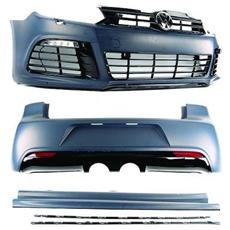 Kit estetico completo R20 Tuning VW Golf VI 2008-2012 completo di accessori come in foto