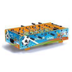 Calciobalilla Linea Games F-Mini Aste Rientranti con Grafica Soccer Game Calcetto FMINIRSOCCER