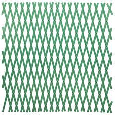 Traliccio porta piante e fiori estensibile colore verde 4x1 mt