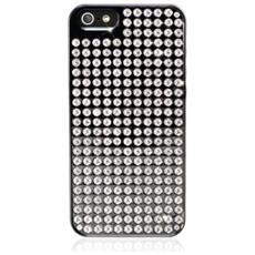 Pure Extravaganza iPhone 5 5S SE nero / cristallo