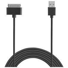 30 Pin Apple TPE cable 1,5 m - Black
