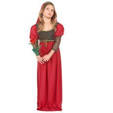 Costume Da Giulietta Per Bambina 7 - 9 Anni (m)