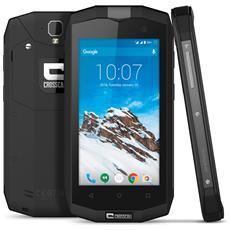 "Trekker M1 Nero 8 GB 4G / LTE Dual Sim Impermeabile Display 4.5"" HD Slot Micro SD Fotocamera 13 Mpx Android Italia"