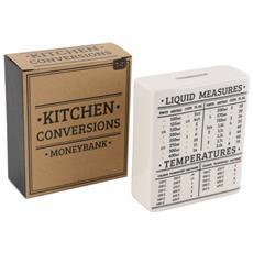 Loft Kitchen Conversations Salvadanaio (taglia Unica) (bianco / nero)