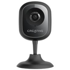 CREATIVE Live Cam IP SmartHD, 1280 x 720 Pixel, 1280x720@25fps, 720p, H. 264, MP4, JPG, Wi-Fi