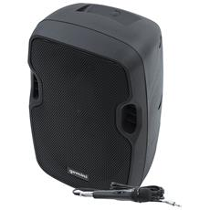 "Diffusore Attivo Potenza 500 Watt Bluetooth Woofer 8"""