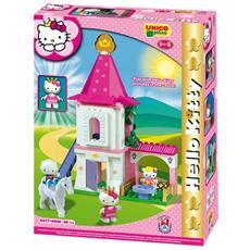 Unico Plus Hello Kitty Princess Castello piccolo 80pz 8677