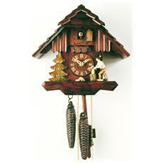 Orologio a cucù originale della Foresta Nera RH1167