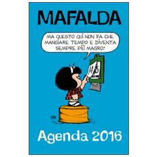 Che stress! Mafalda. Agenda 2016