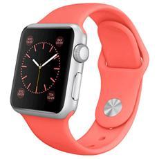 Cinturino WristBand in silicone per Apple Watch da 38mm - Rosso