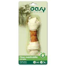 Snack per cani Osso masticabile con pollo Tg L snack 1 Pezzi