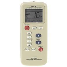 Telecomando Universale 100es 140x55x19mm Per Climatizzatore Condizionatore D' Aria Condizionata Lcd Timer Tempo Oscillazione