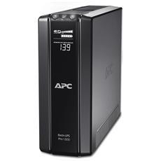 Gruppo di Continuità UPS 1500VA / 865W Back-UPS Pro 10 Prese IEC (C13) / USB / Seriale / RJ11 / RJ45 AVR VI