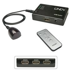 Compact Switch HDMI Remote 3:1 3D