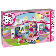 Unico Plus - Hello Kitty Centro Commerciale 140 Pezzi