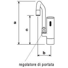 Rubinetto Elettronico Da Lavello E2106