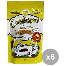 Set 6 Biscotti Formaggio 60 Gr. Cibo Per Animali