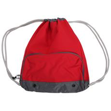 Athleisure Sacca A Spalla Idrorepellente (taglia Unica) (rosso)