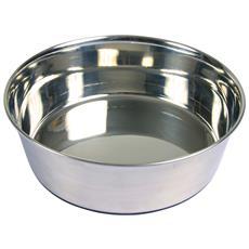 Ciotola In Acciaio Con Anello In Gomma Antiscivolo (0.5 L) (argento)
