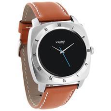 "Smartwatch Nara XW Pro Display 1.22"" Bluetooth con Contapassi e Cardiofrequenzimetro Marrone - Europa"