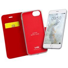 Custodia Book Sense Per Iphone 7 Rossa