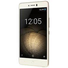 "U Plus Bianco / Oro 16 GB 4G / LTE Dual Sim Display 5"" HD Slot Micro SD Fotocamera 16 Mpx Android Europa"