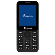 """B100 Dual Sim Display 2.4"""" +Slot MicroSD Bluetooth Radio Torcia Fotocamera colore Nero"""