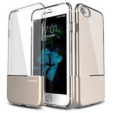 Custodia Cover Di Protezione Ease Hard Case Gold Per Iphone 7