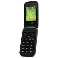 "2404 Dual Sim Display 2.4"" +Slot MicroSD Bluetooth Fotocamera Tasti Grandi e SOS Colore Nero-Europa"